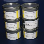 Hostmann Gold Ink 1.5kg & Silver 1kg