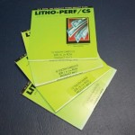 Litho-Perf 6, 8 & 12 TPI. Card & Paper